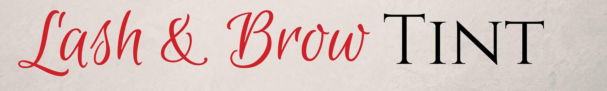 LASH and BROW Tint | Virtu Skin & Body